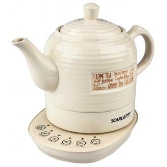 Чайник электрический SCARLETT SC-EK24C02 Beige