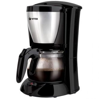 Кофеварка капельного типа VITEK VT-1518 Black