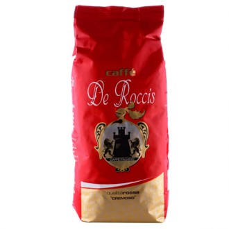 Кофе в зернах De Roccis Rossa 1 кг