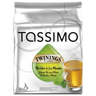 Чай в капсулах Tassimo Twinings с мятой