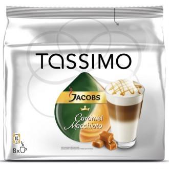 Кофе в капсулах Tassimo Латте Макиато со вкусом карамели