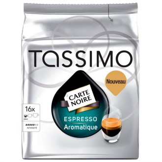Кофе в капсулах Tassimo Карт Нуар Эспрессо Ароматик