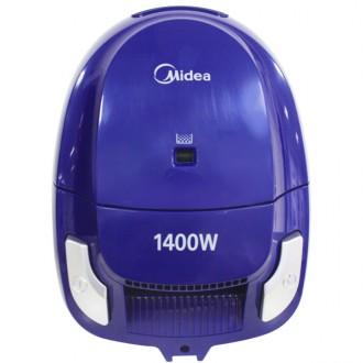 Пылесос с пылесборником Midea MVCB32A1 Blue