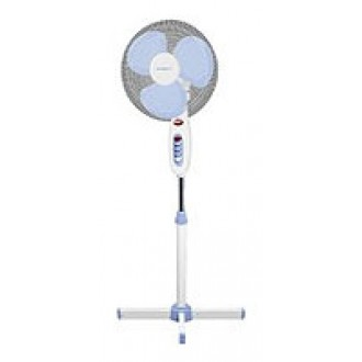 Вентилятор напольный Scarlett SC-375 White