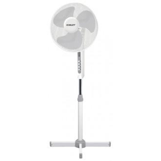 Вентилятор напольный Scarlett SC-379 White