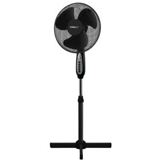 Вентилятор напольный Scarlett SC - 1177 Black