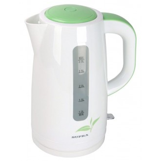 Электрочайник Supra KES-3012 White/green