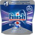 Таблетки для посудомоечной машины Finish Quantum Max, 80шт в упаковке