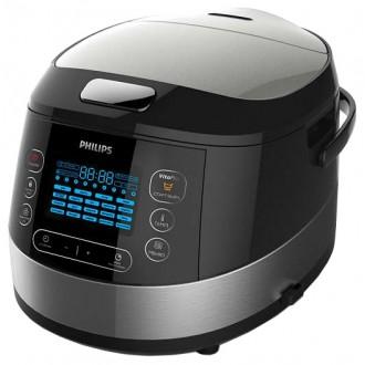 Мультиварка Philips HD4737/03 Black/Silver