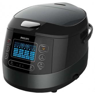 Мультиварка Philips HD4749/03 Black/Silver