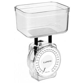 Кухонные весы Lumme LU-1301 White