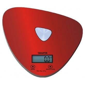 Весы кухонные Marta MT-1632 Red