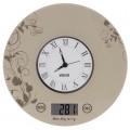 Весы кухонные электронные Mystery MES-1818 бежевый