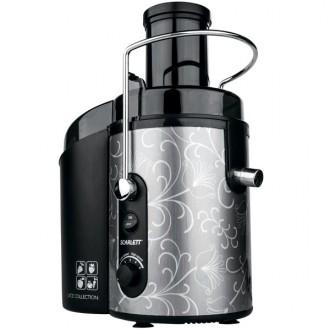Соковыжималка Scarlett SC-JE50S12/26 Black/silver