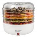Сушилка для овощей и фруктов SCARLETT SC-FD421005 White