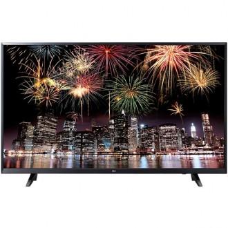 Телевизор LG 49UJ620V Black