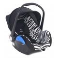 Детское автокресло Leader Kids ROOMER II Zebra
