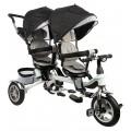 Детский велосипед Capella TWIN TRIKE 360 черный