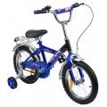 Детский велосипед Leader Kids G14BD213 синий