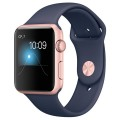 Смарт-часы Apple Watch S1 Sport 42mm Rose Gold/Blue (MNNM2RU/A)