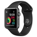 Смарт-часы Apple Watch S1 Sport 42mm Grey/Black (MP032RU/A)