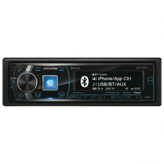Автомобильная магнитола с CD MP3 Alpine CDE-178BT