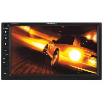 Навигационная медиа система Soundmax SM-CCR3703G Black