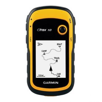 Туристический навигатор Garmin eTrex10 GPS Глонасс Россия