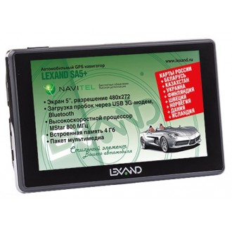 GPS-навигатор LEXAND SA5 HD