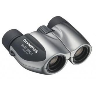 Бинокль Olympus 8x 21мм 8x21 DPC I серебристый/черный