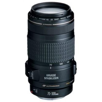 Объектив для зеркального фотоаппарата Canon EF 70-300mm f/4.0-5.6 IS USM 0345B006