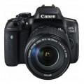 Зеркальный фотоаппарат CANON EOS 750D kit 18-135 IS STM Black