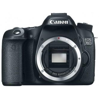Фотоаппарат зеркальный Canon EOS 70D Body Black