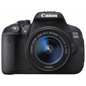 Фотоаппарат зеркальный Canon EOS 700D Kit 18-55 IS STM Black