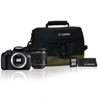 Фотоаппарат зеркальный Canon EOS 1200D 18-55IS Kit + Bag Black