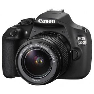 Фотоаппарат зеркальный Canon EOS 1200D Kit 18-55 DC III STM Black