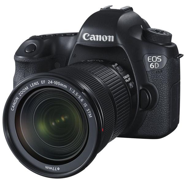 Фотоаппарат зеркальный Canon EOS 6D Kit Black