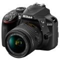 Зеркальный фотоаппарат Nikon D3400 Kit AF-P 18-55 non VR Black