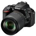 Зеркальный фотоаппарат Nikon D5600 + AF-S 18-105 VR Black