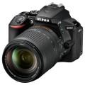 Зеркальный фотоаппарат Nikon D5600 + AF-S 18-140 VR Black