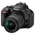 Фотоаппарат зеркальный Nikon D5600 Kit AF-P 18-55 VR Black