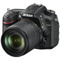 Фотоаппарат зеркальный Nikon D7200 Kit 18-105mm VR Black