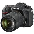 Фотоаппарат зеркальный Nikon D7200 Kit 18-105 VR Black