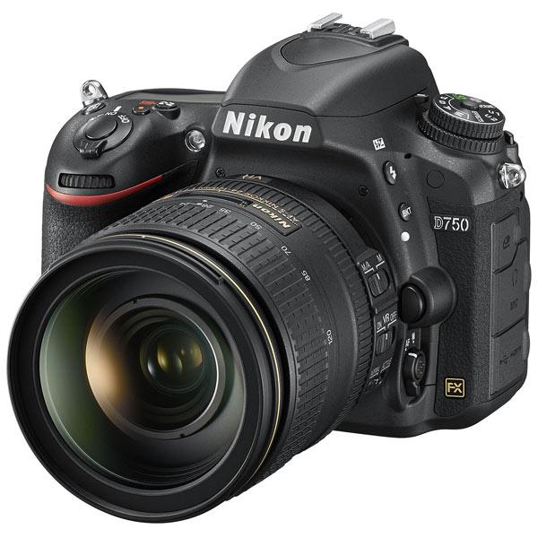 Фотоаппарат зеркальный Nikon D750 Kit 24-120 F4G VR Black