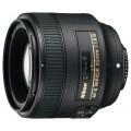 Объектив для зеркального фотоаппарата Nikon 85mm f/1.8G AF-S Nikkor JAA341DA