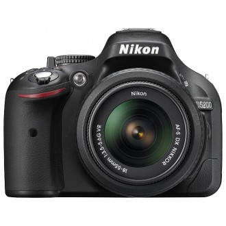 Фотоаппарат зеркальный Nikon D5200 Kit 18-55 VR II Black