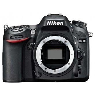 Фотоаппарат зеркальный Nikon D7100 Body Black