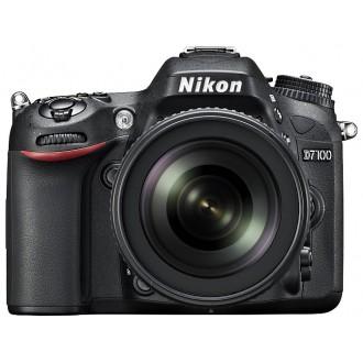 Фотоаппарат зеркальный Nikon D7100 Kit 18-105VR  Black