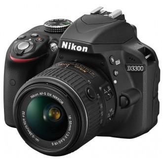 Фотоаппарат зеркальный Nikon D3300 Kit 18-55 VR II Black