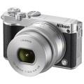 Фотоаппарат со сменной оптикой Nikon 1 J5 Kit 10-30 mm (VVA243K001) Silver